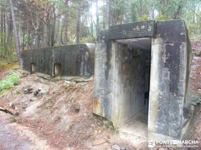 Frente del Agua - Ruta Guerra Civil; viajes trekking;lagunas de gredos